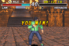 Tekken Advance - i won! - User Screenshot